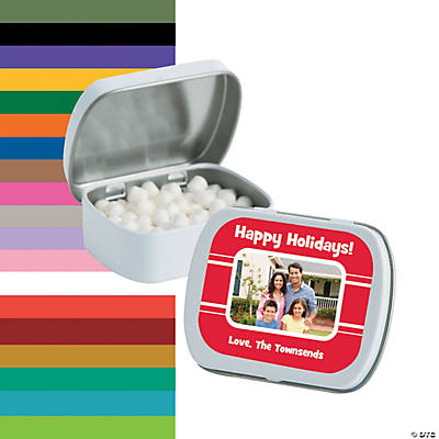 Custom Photo Mint Tins Image Thumbnail