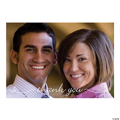Custom Photo Postcard Thank You Cards