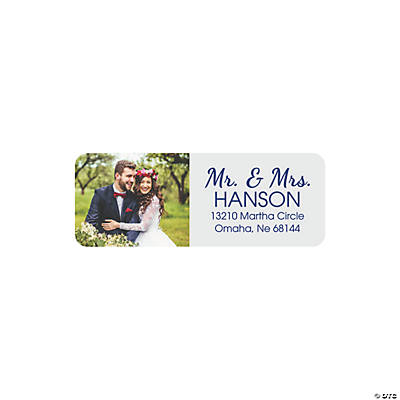 Custom Photo Return Address Labels Image Thumbnail