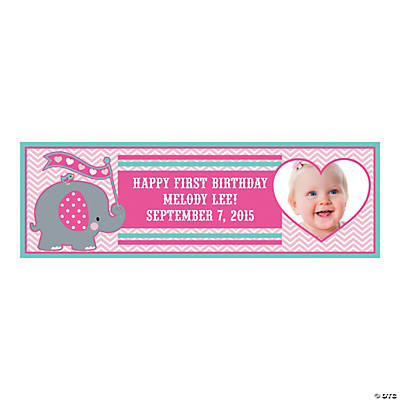 Custom Photo Small Elephant Vinyl Banner Image Thumbnail