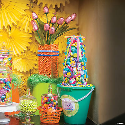 Diy Easter Candy Topiaries Idea