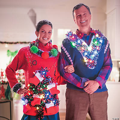 Diy Holiday Ugly Sweater Idea