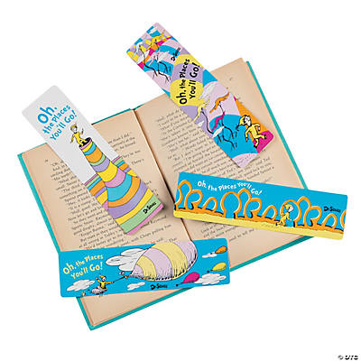 Dr Seuss Oh The Places Youll Go Bookmarks