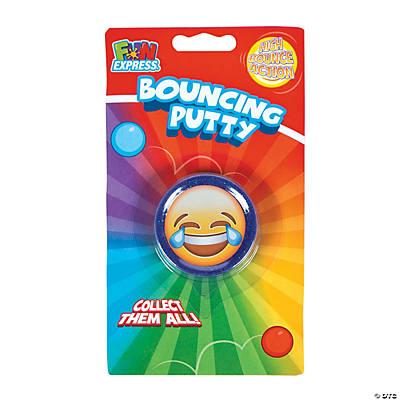 Emoji Glitter Bouncing Putty