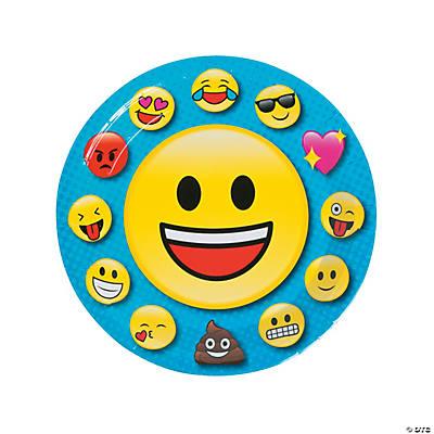 Emoji Paper Dinner Plate