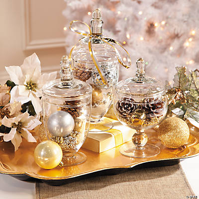 Enchanted Christmas Table Decoration Ideas Oriental Trading