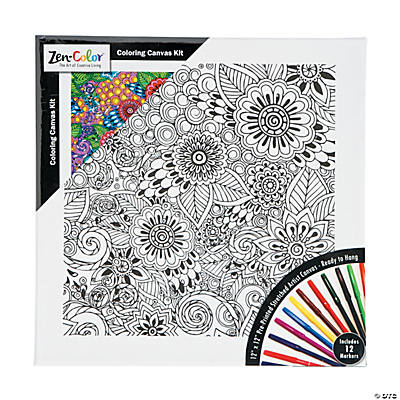 Awesome Coloring Canvas Pictures - Triamterene.us - triamterene.us