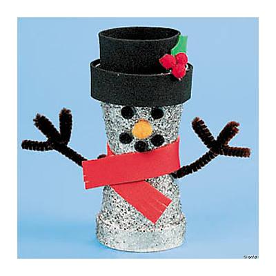 225 & Flower Pot Snowman Idea
