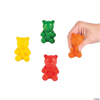 836810449 Foam Gummy Teddy Bear Stress Toys