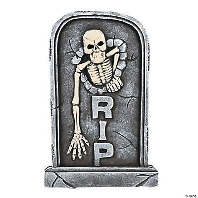 Foam Skeleton Tombstone