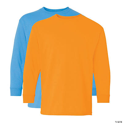 Gildan® Heavy Cotton Youth Long Sleeve T-Shirt Image Thumbnail
