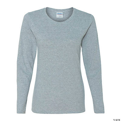 Gildan® Ladies 100% Cotton Long Sleeve T-shirt Image Thumbnail