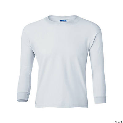 Gildan® Ultra Cotton Youth Long Sleeve T-Shirt Image Thumbnail