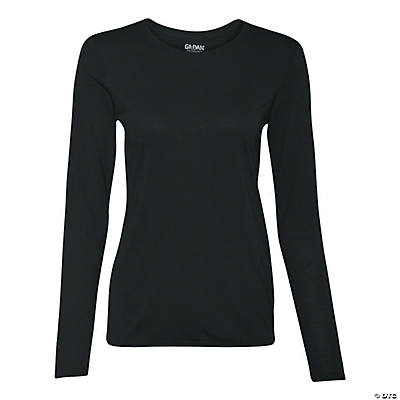 Gildan® Women's Performance® Long Sleeve T-Shirt Image Thumbnail