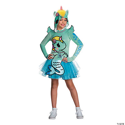 Kids Tokidoki Sirena Mermicorno Costume Child Size Medium 8-10