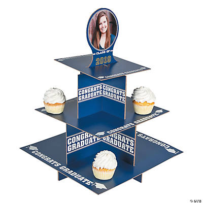 Graduation Custom Photo Cupcake Stand