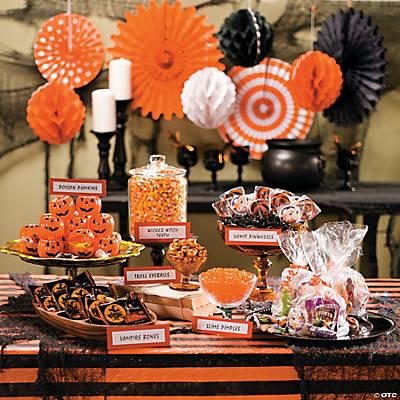 Marvelous Halloween Candy Buffet Idea Oriental Trading Download Free Architecture Designs Xerocsunscenecom