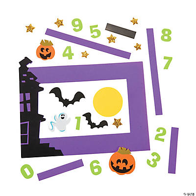 Halloween Picture Frame Magnet Craft Kit