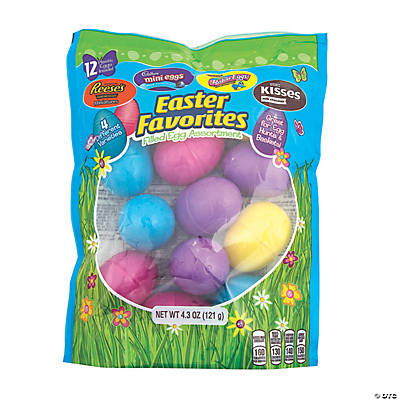 EASTER PAINTED EGGS Craft Buttons Novelty Chocolate Bright Food Sweets Children