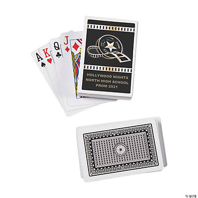 Hollywood Playing Cards with Personalized Box Image Thumbnail