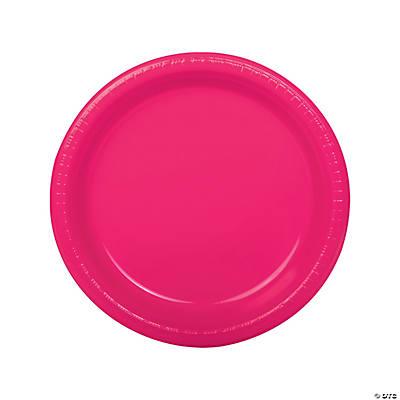 sc 1 st  Fun Express & Hot Pink Dinner Plates