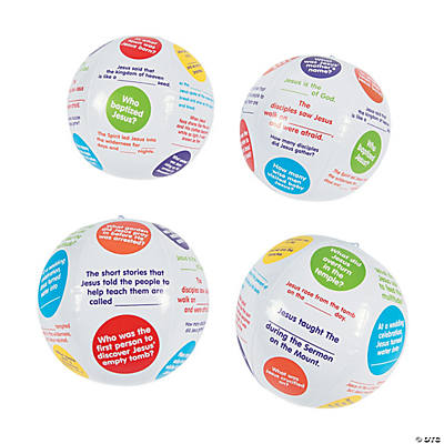 Inflatable Facts About Jesus Beach Balls