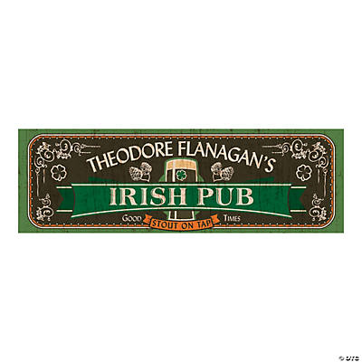 Irish Pub Party Custom Banner - Medium Image Thumbnail