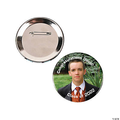 Large Custom Photo Buttons