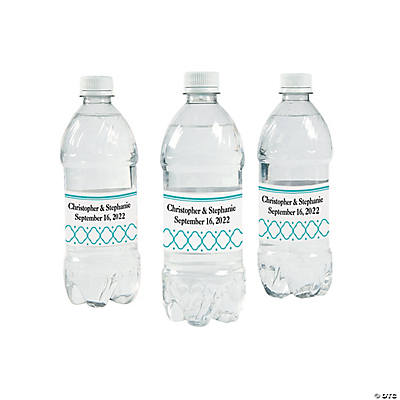 Lattice Water Bottle Labels Image Thumbnail
