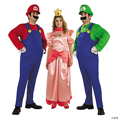 Mario Brothers Group Costumes Oriental Trading