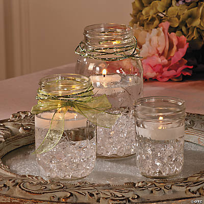 Mason Jar Centerpiece Idea