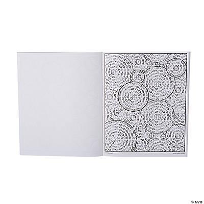MindWare® Modern Patterns Circular Adult Coloring Book