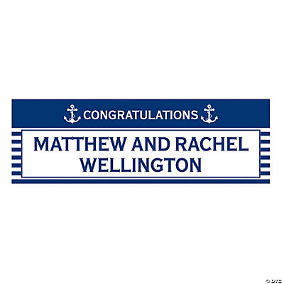 Nautical Wedding Custom Banner Image Thumbnail