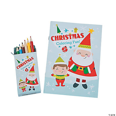 - Nordic Noel Coloring Books With Colored Pencils