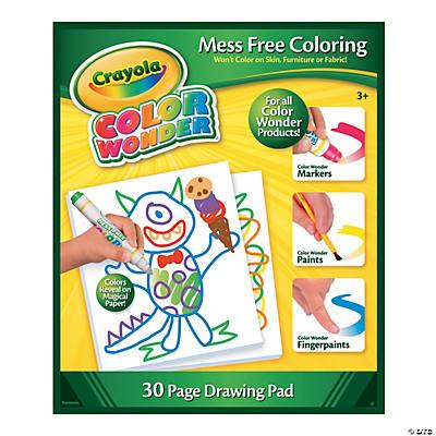 Paper Crayola Color Wonder Drawing Pad