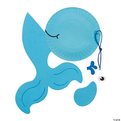 sc 1 st  Fun Express & Paper Plate Whale Craft Kit