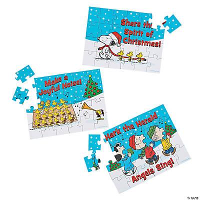 Free Shipping 12 Peanuts Christmas Inspirational Tattoos Stocking Stuffers