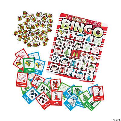 Christmas Bingo.Peanuts Christmas Bingo
