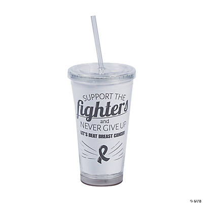 Personalized Awareness Tumbler with Straw Image Thumbnail