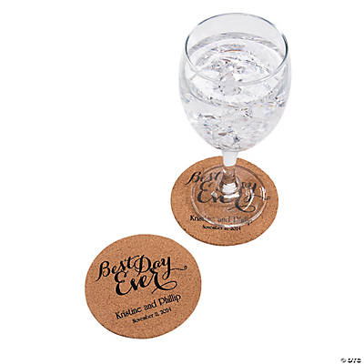 Personalized Best Day Ever Coasters