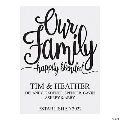 Personalized Blended Family Sign Image Thumbnail