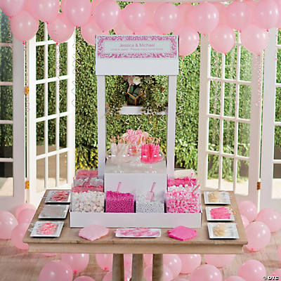Personalized Candy Buffet Stand-Up