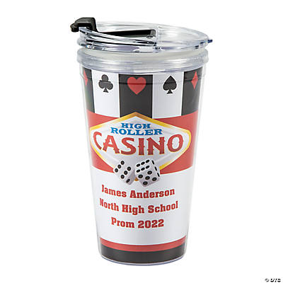 Personalized Casino Travel Mug