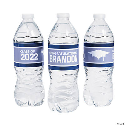 Personalized Class of Water Bottle Labels Image Thumbnail