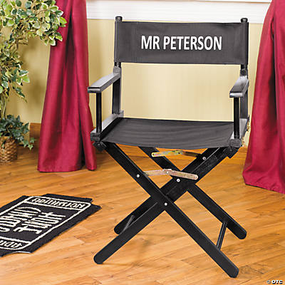 Personalized Director's Chair