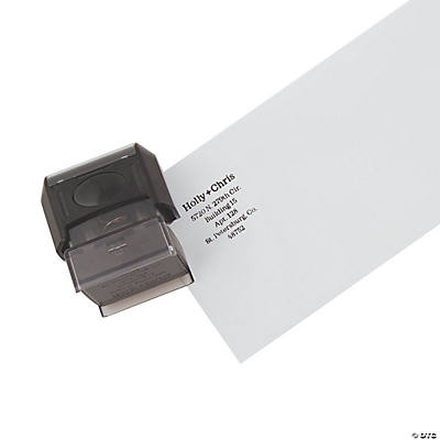 Personalized First Names & Address Self Inking Stamper