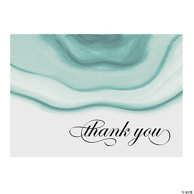 Personalized Geode Thank You Cards Image Thumbnail
