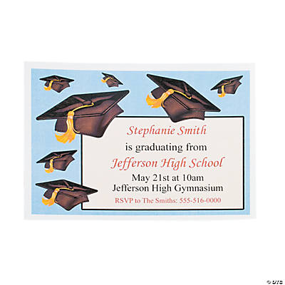 personalized graduation invitations discontinued