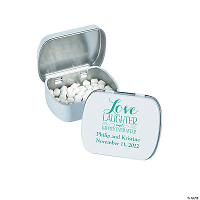 Personalized Happily Ever After Mint Tins