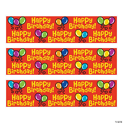 Personalized Happy Birthday Pencils